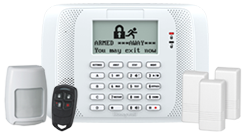Included security system, free with no contract!